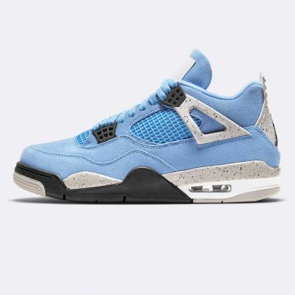 Nike Air Jordan 4 Retro University Blue/Black-Tech Grey-White CT8527-400