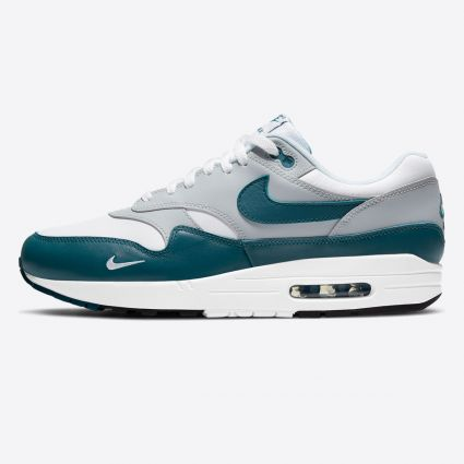 Nike Air Max 1 LV8 White/Dark Teal Green-Wolf Grey-Black DH4059-101