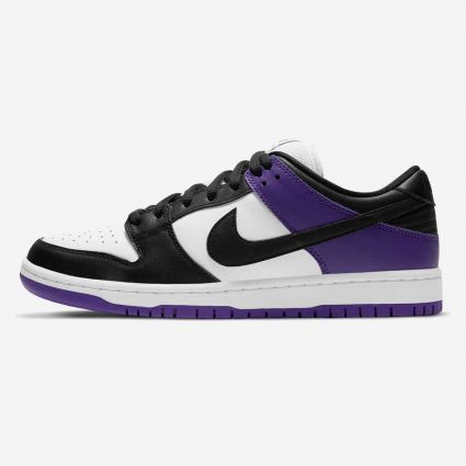 Nike SB Dunk Low Pro Court Purple/Black-White-Court Purple BQ6817-500