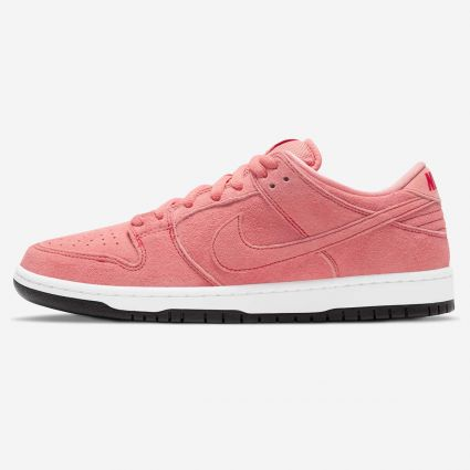 Nike SB Dunk Low Prm 'Pink Pig' Atomic Pink/Atomic Pink-University Red CV1655-600
