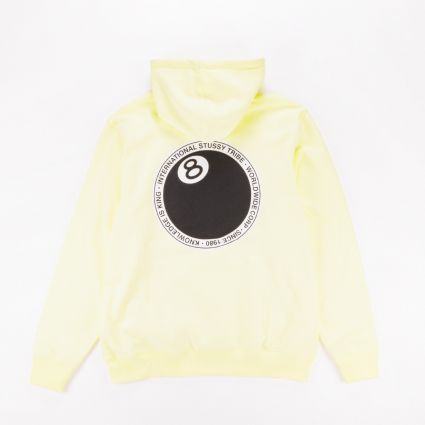 Stussy 8 Ball Dot Hoodie Pale Yellow