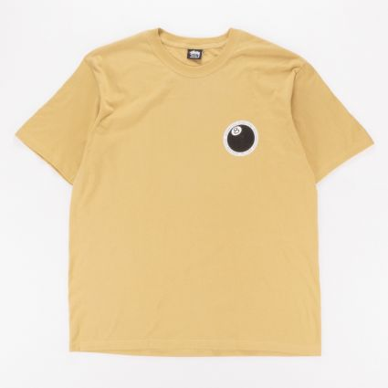 Stussy 8 Ball Dot T-Shirt Khaki1
