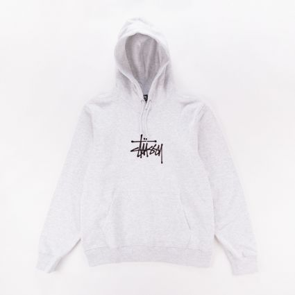Stussy Basic App. Hoodie Ash Heather1