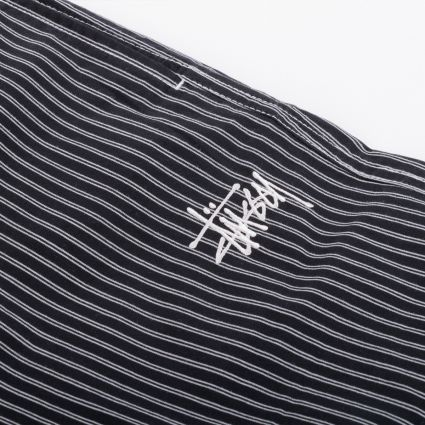 Stussy Brushed Cotton Relaxed Pant Stripe