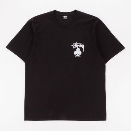 Stussy Club Pig. Dyed T-Shirt Black1