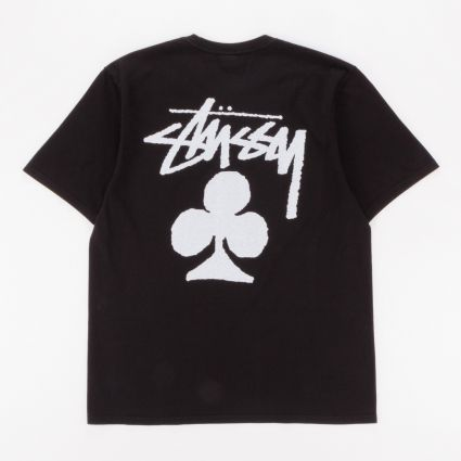 Stussy Club Pig. Dyed T-Shirt Black
