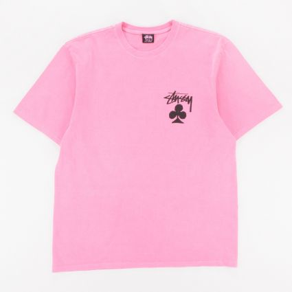 Stussy Club Pig. Dyed T-Shirt Pink1
