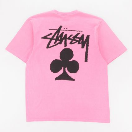 Stussy Club Pig. Dyed T-Shirt Pink