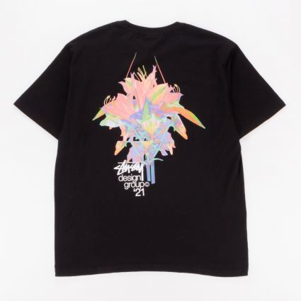 Stussy Design Group 21 T-Shirt Black