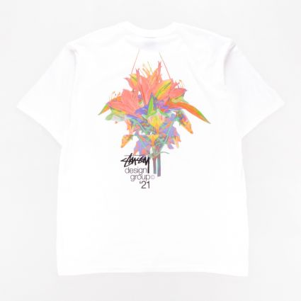 Stussy Design Group 21 T-Shirt White