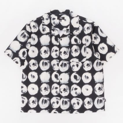 Stussy Hand Drawn Dot Shirt Black1