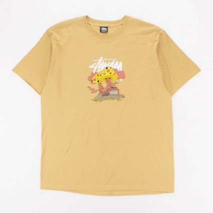 Stussy Something's Cookin' T-Shirt Khaki1