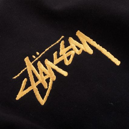 Stussy Stock App. Crewneck Sweatshirt Black
