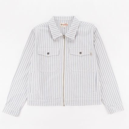 Stussy Stripe Garage Jacket Stripe1
