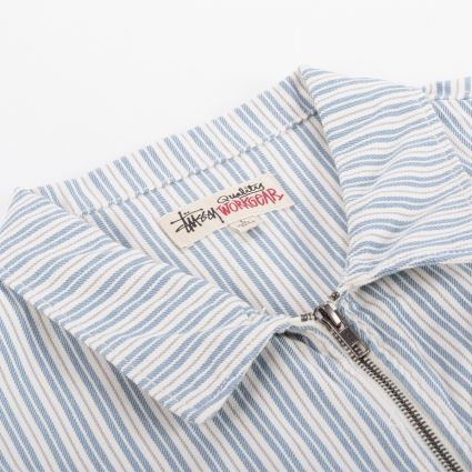 Stussy Stripe Garage Jacket Stripe